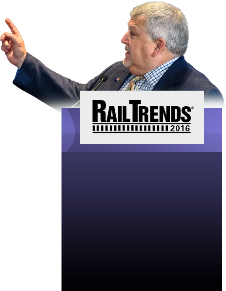 Tony Hatch RailTrends 2016